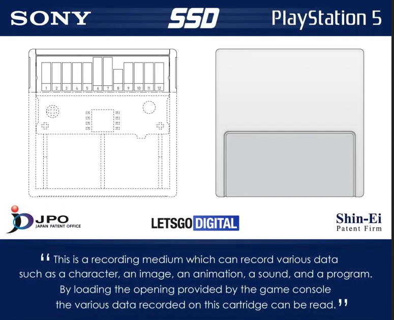 ps5 ssd memory card cartucce