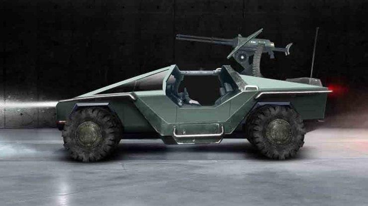 cyberpunk 2077 cybertruck halo warthog