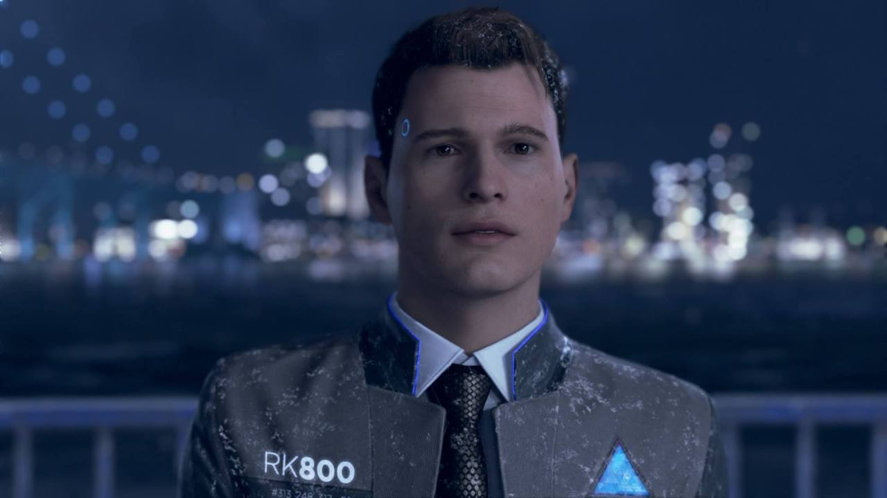 detroit become human cyberpunk connor