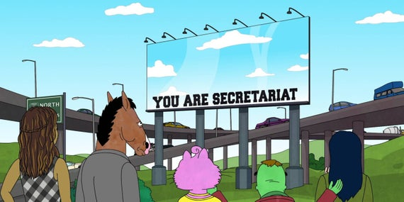 bojack horseman spiegato secretariat