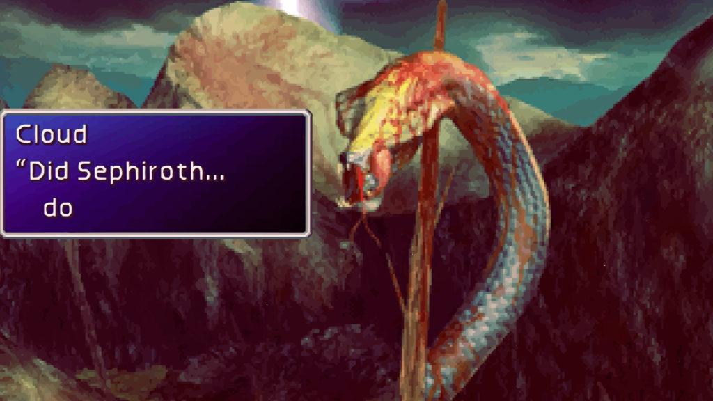 final fantasy 7 come cambiare lingua
