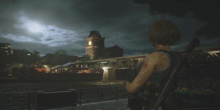 resident evil 3 nemesis remake torre dell'orologio